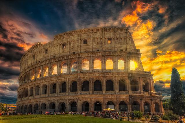 A Gladiators Dream. Colosseum, Rome by Darren Flinders, via Flickr