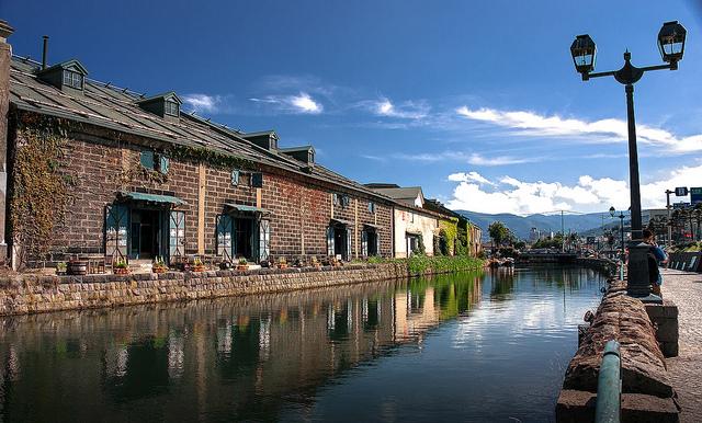 Otaru Canal, Hokkaido, Sapporo by Natee P via Flickr
