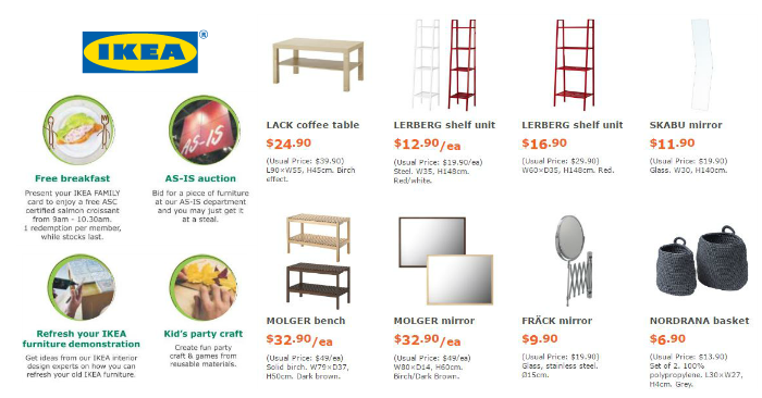 Ikea To Offer Free Breakfast On Ikea Family Day Enjoy Up To 50
