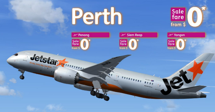how to find 0 fare return flights with jetstar