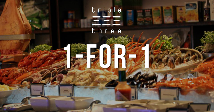 Surprising Enjoy 1 For 1 Buffet Lunch At Triple Three If You Are A Dbs Home Remodeling Inspirations Gresiscottssportslandcom