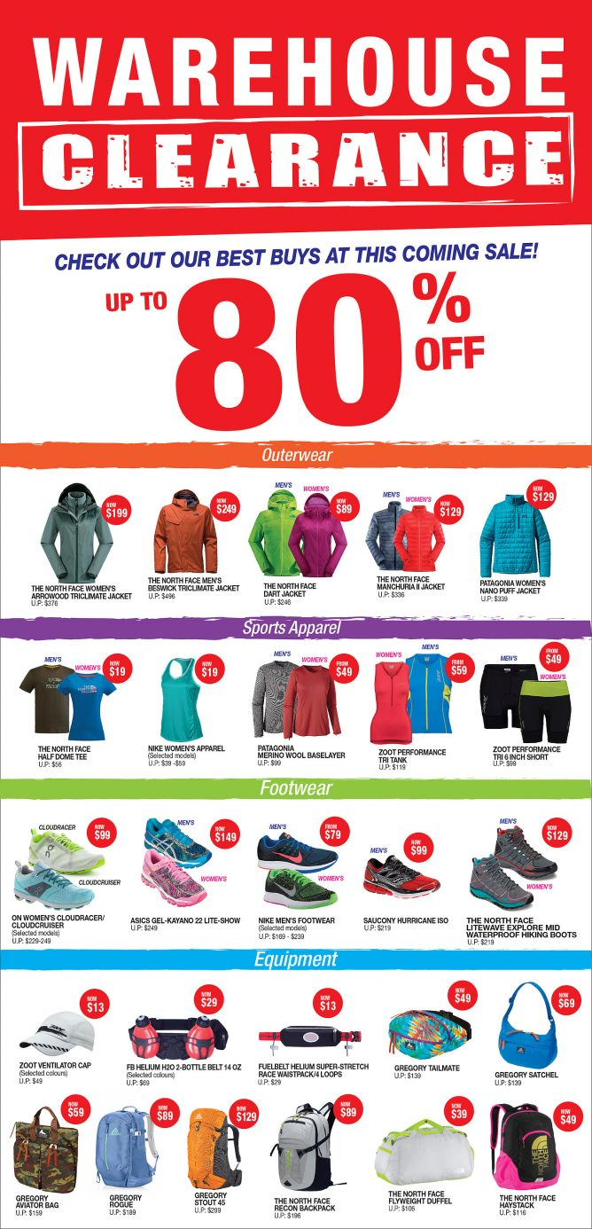 Running Shoes Warehouse Sale Singapore