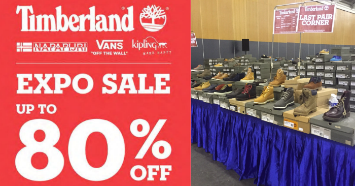 7bf2a0f5d44 Timberland Expo Sale kicks off with up to 80% off on footwear & apparel (2  - 5 Nov 17) | MoneyDigest.sg