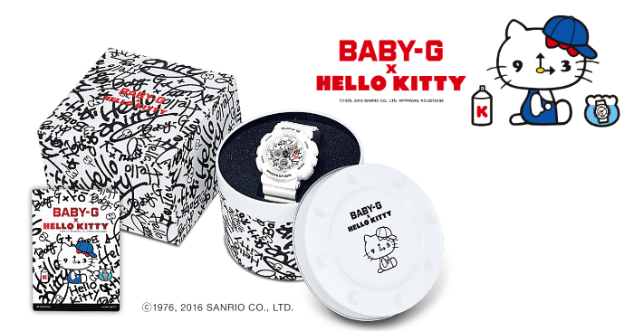 3728e9025 CASIO launches the limited edition BABY-G X Hello Kitty watch from 10 Dec  16 | MoneyDigest.sg