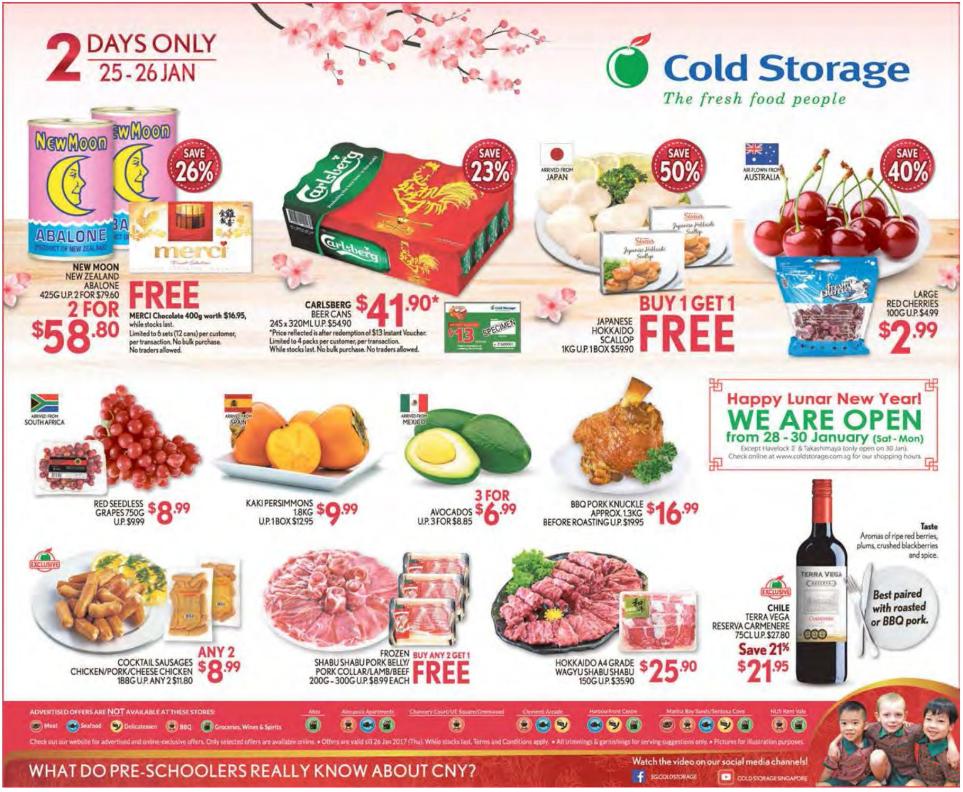 Cold Storage Ad