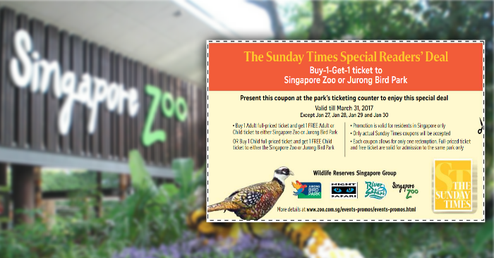 zoo deals singapore
