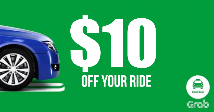 Heading home late at night? Use this $10 off GrabTaxi Promo