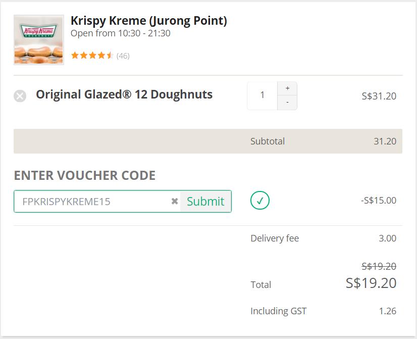 Krispy Kreme Promo