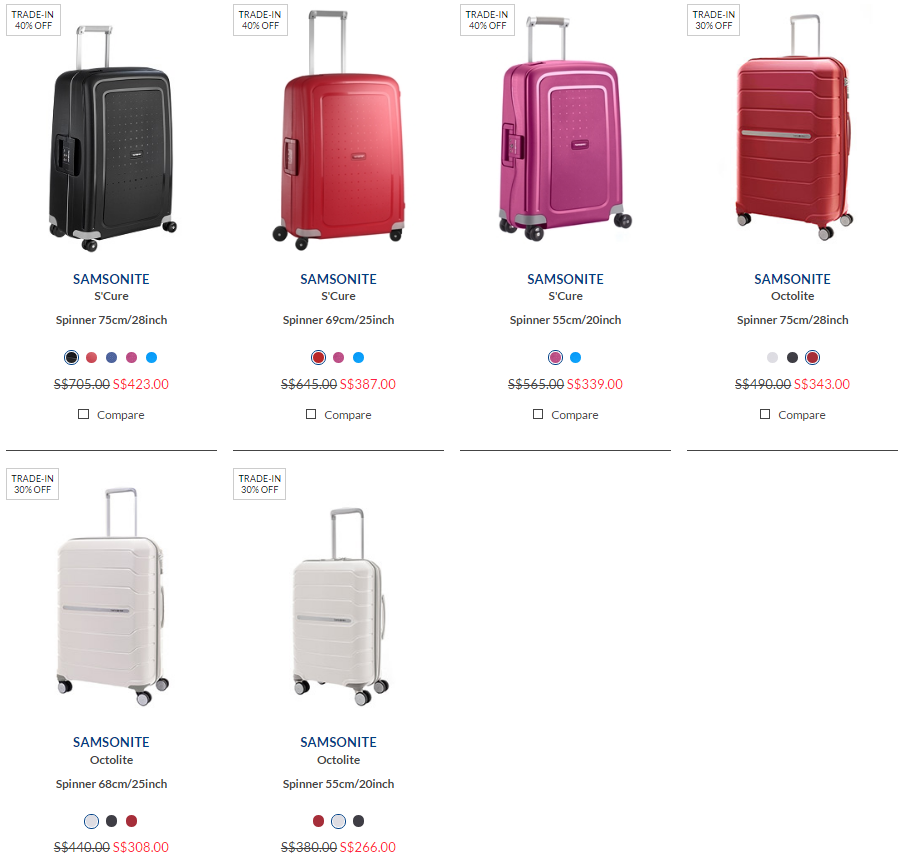 Samsonite TRADE IN 2