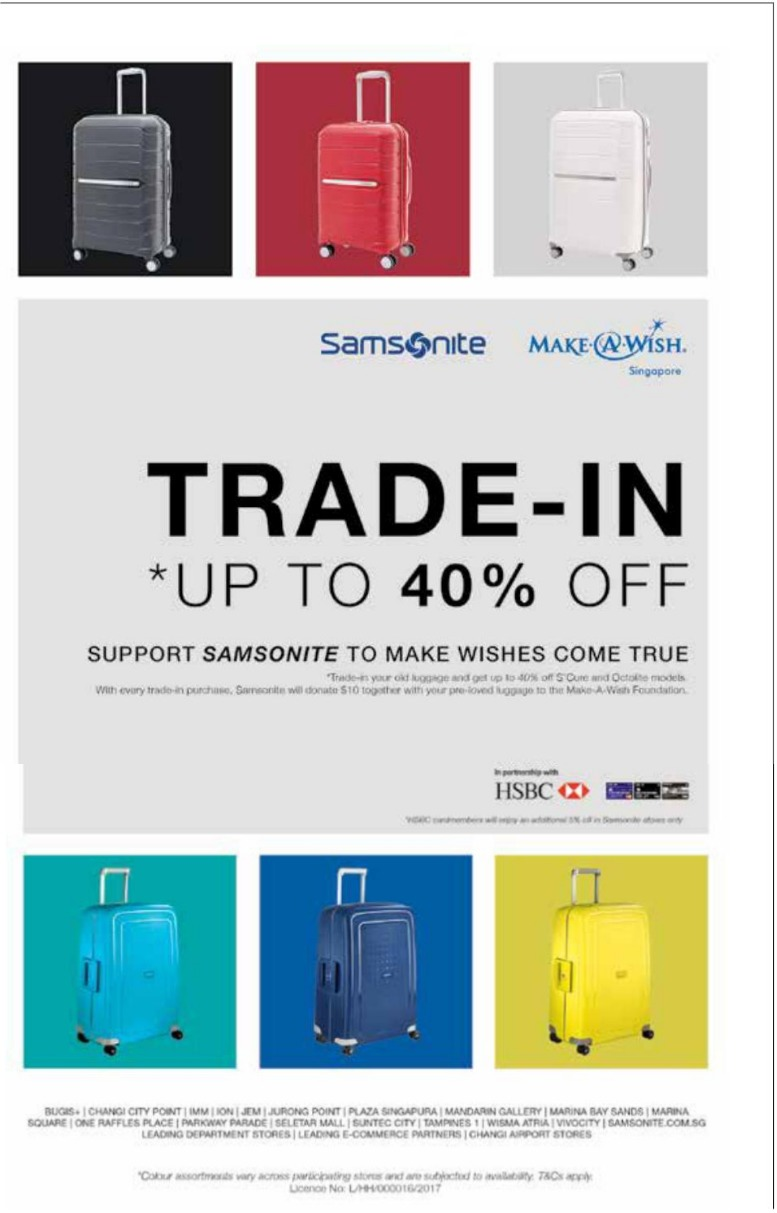Samsonite Trade In