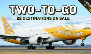 scoot two to go