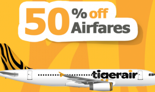 tigerair 50off
