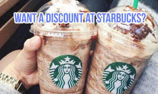 Starbucks Discount