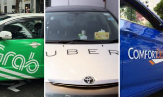 grab uber comfortdelgro