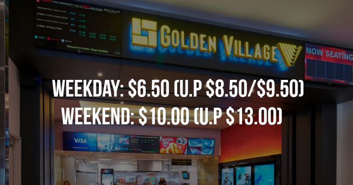 golden village to offer 650 weekday tickets and 10