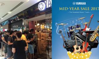 Yamaha Mid Year Sale