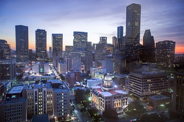 Houston City Skyline (Image credit: Katie Haugland Bowen, via Flickr)
