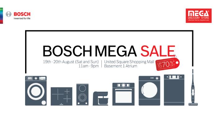 Bosch Mega Sale