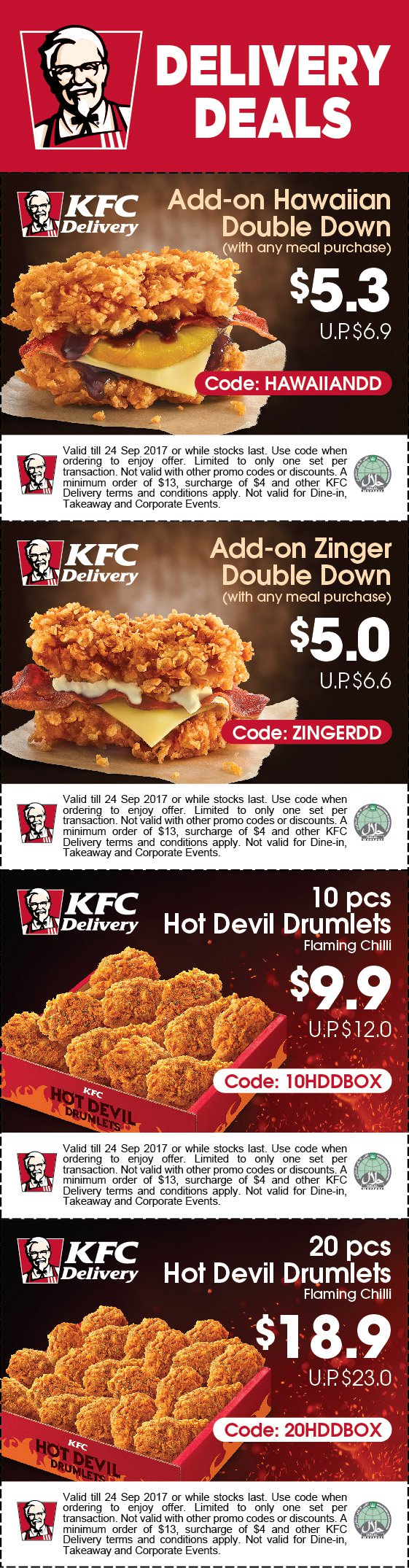 KFC_ZDD_E-couponStrip_Delivery Deals