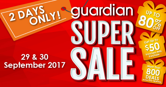 Guardian Super Sale
