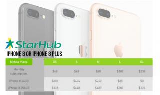 iphone 8 starhub