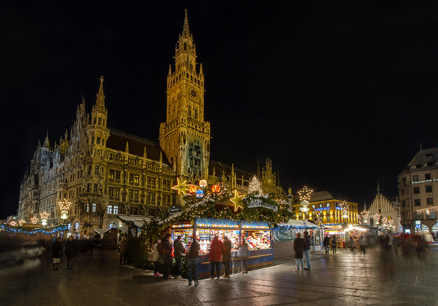 Christkindlmarkt by Jason Mrachina, via Flickr