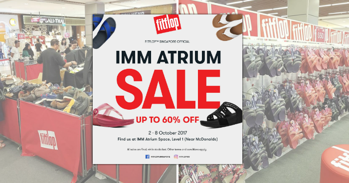 3fa8d756fdd47a FitFlop is running their BIGGEST sale of the year from 2 – 8 Oct 17.  Footwear are priced to clear at up to 60% off!