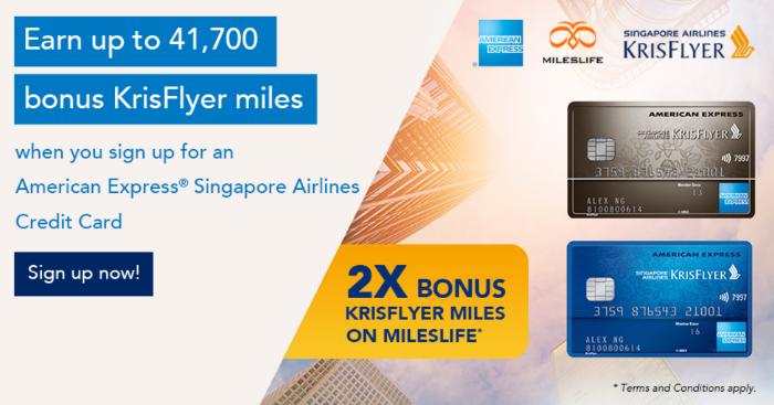 Turbo Charge Your American Express Singapore Airlines Credit Card with Mileslife