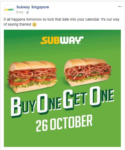 Subway SG