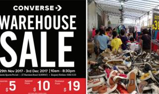 Converse Warehouse Sale 2017