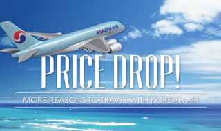 Korean Air Price Drop