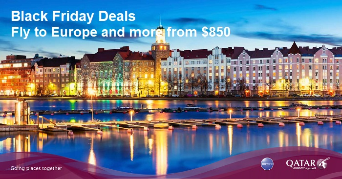 Qatar Airways Black Friday Sale – Fly to Europe from just $850 ...
