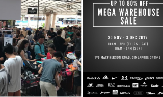Royal Sporting House 2017 Warehouse Sale