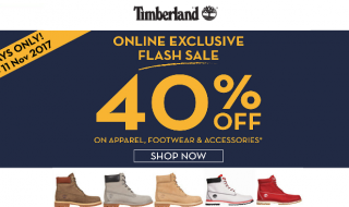Timberland Flash Sale