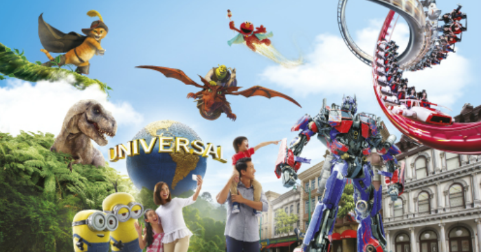 Amazing 1-for-1 deal at Universal Studios Singapore™ and Adventure Cove Waterpark for Maybank Cardmembers this festive Lunar New Year.