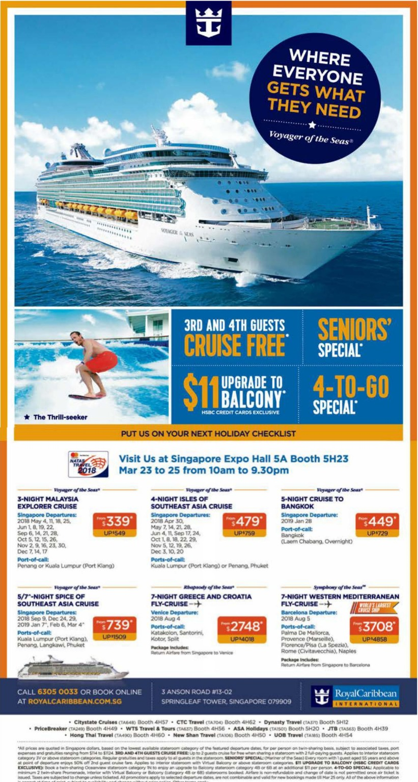 Royal Caribbean Cruises Buy 2 Get 2 Free 3rd Amp 4th Guests Cruise For Free When You Book From
