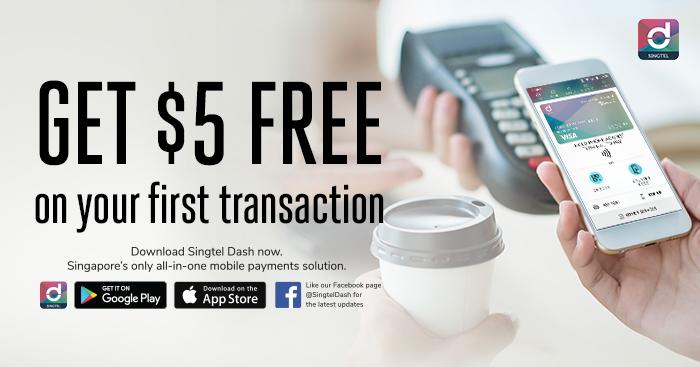 Get $5 FREE when you sign up for Singtel Dash! | MoneyDigest sg