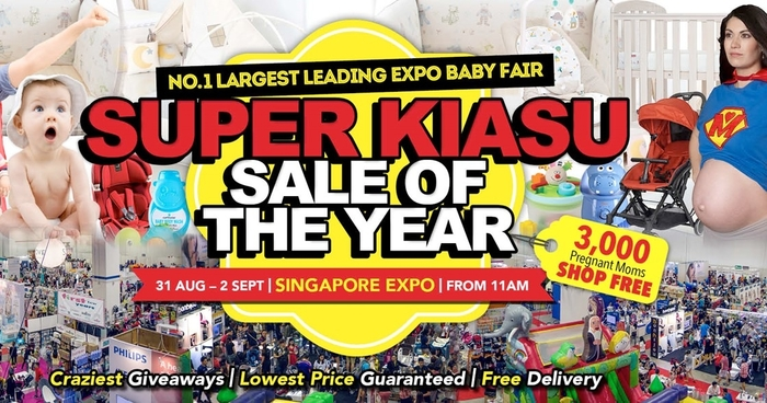 Supermom Baby Fair Singapore Expo Super Kiasu S Of The Year Moneydigest Sg