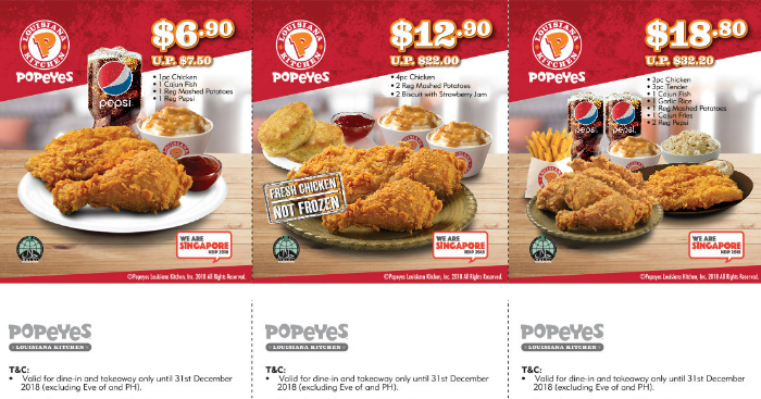 photograph relating to Popeyes Coupon Printable named Popeyes Printable Coupon codes Promotions for employ right until 31 December