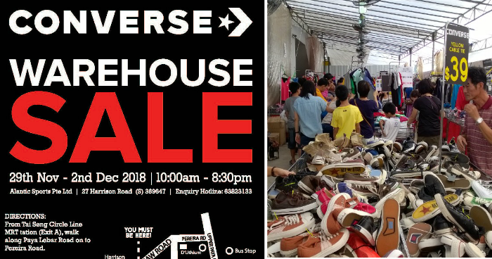 converse warehouse sale november 2018