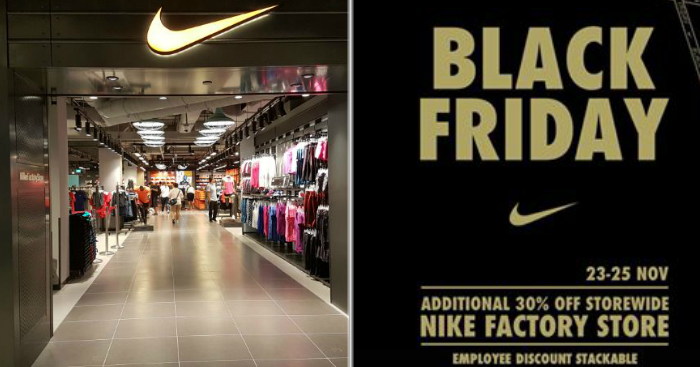 8ca6ad5c9b4 Nike to run Black Friday Sale offering 30% discount storewide from 23 – 25  November