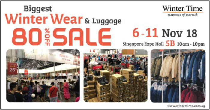 8f985e44944d Winter Time s Biggest Winter Wear   Luggage Event is now on at ...