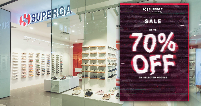 84b196aeb16 Superga s Black Friday Sale is now on! Enjoy up to 70% off from 23 – 26 Nov  18!