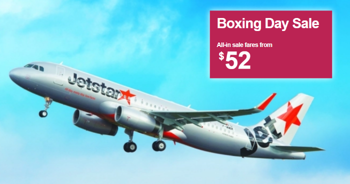 c056a24ea3 Jetstar is running a Boxing Day Sale from 26 – 31 December 2018. Snag great  fares to Bangkok