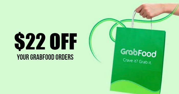 Use this promo code to get $22 off your GrabFood orders from