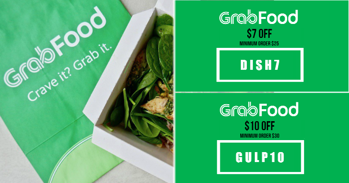 Use these GrabFood Promo Codes ($16, $10, $7 OFF & More) from 18