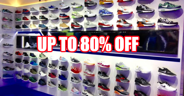 0f8cccd5ab You can get Nike and Adidas footwears at up to 80% off in this sale from 7  – 10 Mar 2019