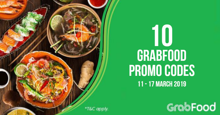 Here are the latest GrabFood Promo Codes (40% OFF, 35% OFF