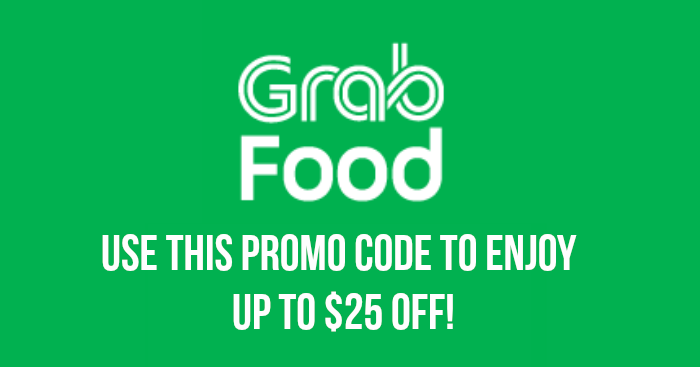 Use this GrabFood Promo Code to enjoy up to $25 off your meals