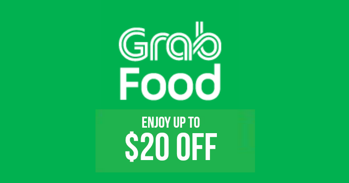 Use this new GrabFood Promo Code to enjoy at up $20 off your orders